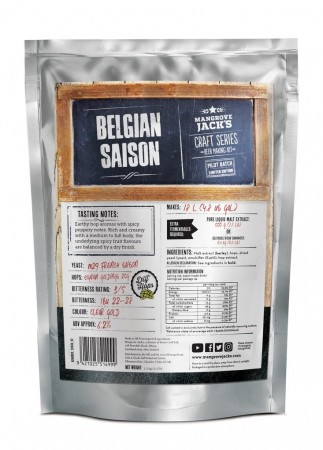 Craft Series Belgian Saison (Limited Edition) ekstraktsett - 2,5kg
