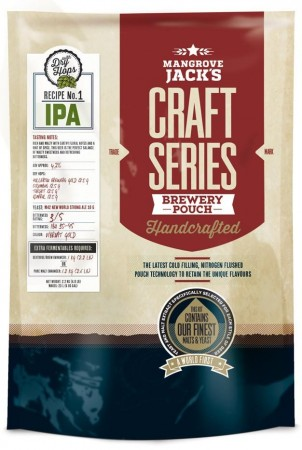 Craft Series IPA with dry hops ekstraktsett - 2,2kg