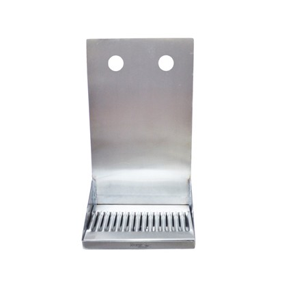 Shank Mounted Drip Tray - 2 kraner - Krome Dispense