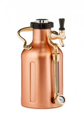 GrowlerWerks uKeg 64 Copper-Plated (1,9L)