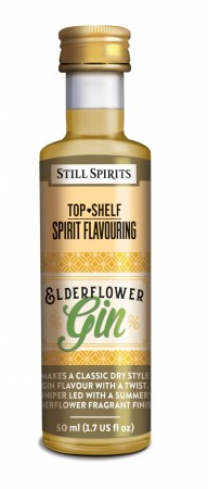 SS Top Shelf Elderflower Gin - 50ml essens