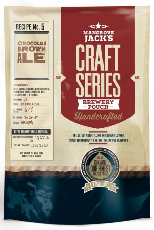 Craft Series Chocolate Brown Ale ekstraktsett - 2,2kg